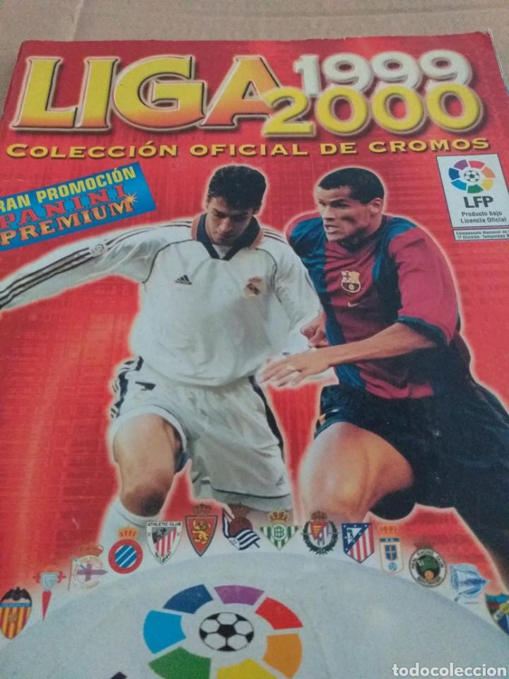 ALBUM LIGA 99.00 PANINI (Coleccionismo Deportivo - Álbumes y Cromos de Deportes - Álbumes de Fútbol Incompletos)