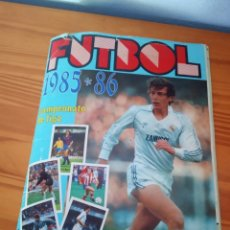 Coleccionismo deportivo: ALBUM ED LISEL 85 86 CROMO FUTBOL LIGA 1985 1986 TEMPORADA - VACIO CROMOS DESPEGADOS. Lote 167566060