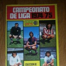 Coleccionismo deportivo: ALBUM VACIO CAMPEONATO LIGA ESTE 74 / 75 1974 1975 . Lote 167572132