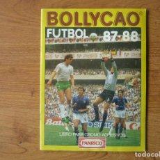 Coleccionismo deportivo: ALBUM BOLLYCAO FUTBOL LIGA 87 88 PANRICO CON 167 CROMOS - 1987 1988. Lote 167611144
