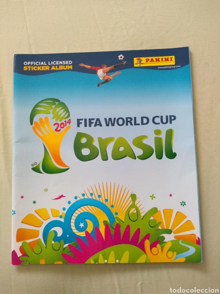 ALBUM VACÍO PANINI MUNDIAL BRASIL 2014 (Coleccionismo Deportivo - Álbumes y Cromos de Deportes - Álbumes de Fútbol Incompletos)