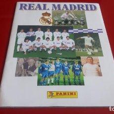 Coleccionismo deportivo: ALBUM INCOMPLETO REAL MADRID AÑO 1996 PANINI. Lote 167753588