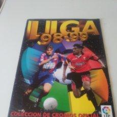 Coleccionismo deportivo: ALBUM CON 147 CROMOS PEGADOS EDICIONES ESTE 1998-99 EN MUY BUEN ESTADO LIGA ESTE 98-99. Lote 168164884