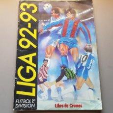 Coleccionismo deportivo: ALBUM VACIO LIGA ESTE 92 93 1992 1993 BUEN ESTADO PLANCHA LEER. Lote 168279421