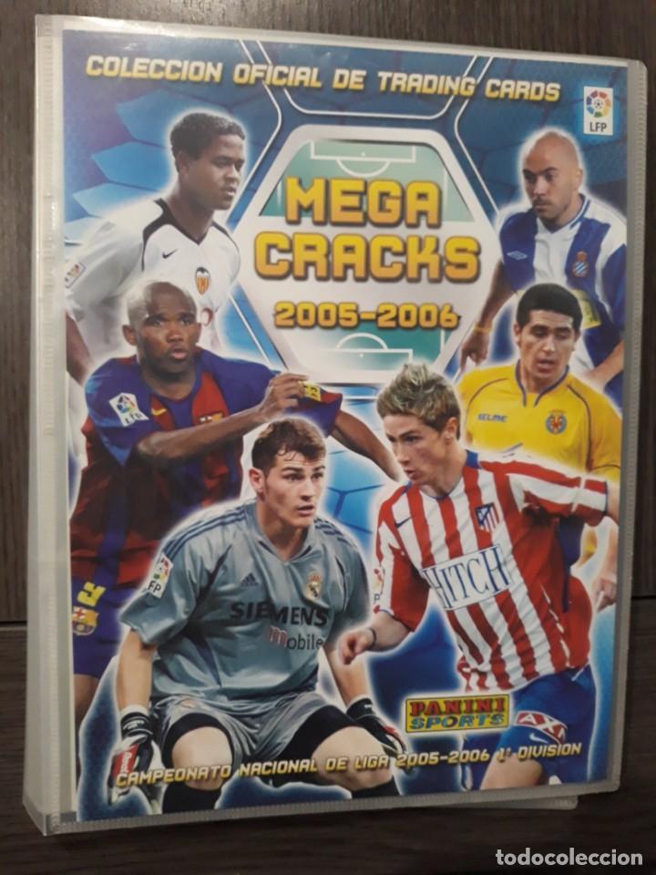 MEGA CRACKS, MEGACRACKS 2005-2006, 05-06 - 117 CROMOS DIFERENTES - EDITORIAL PANINI (Coleccionismo Deportivo - Álbumes y Cromos de Deportes - Álbumes de Fútbol Incompletos)