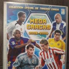 Coleccionismo deportivo: MEGA CRACKS, MEGACRACKS 2005-2006, 05-06 - 117 CROMOS DIFERENTES - EDITORIAL PANINI. Lote 168404696