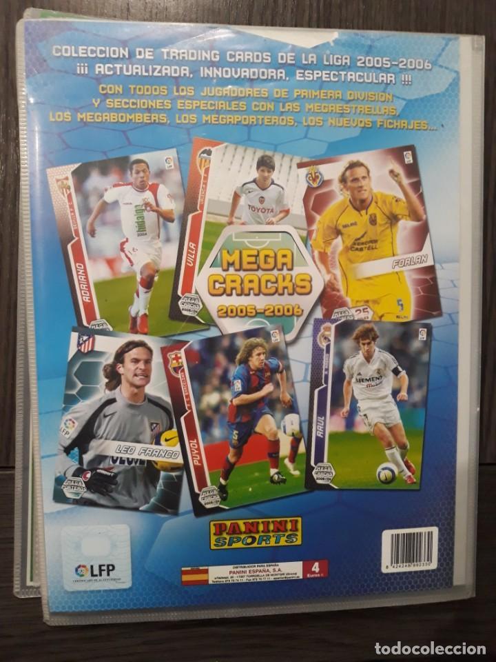 Coleccionismo deportivo: Mega Cracks, Megacracks 2005-2006, 05-06 - 117 cromos diferentes - Editorial Panini - Foto 24 - 168404696