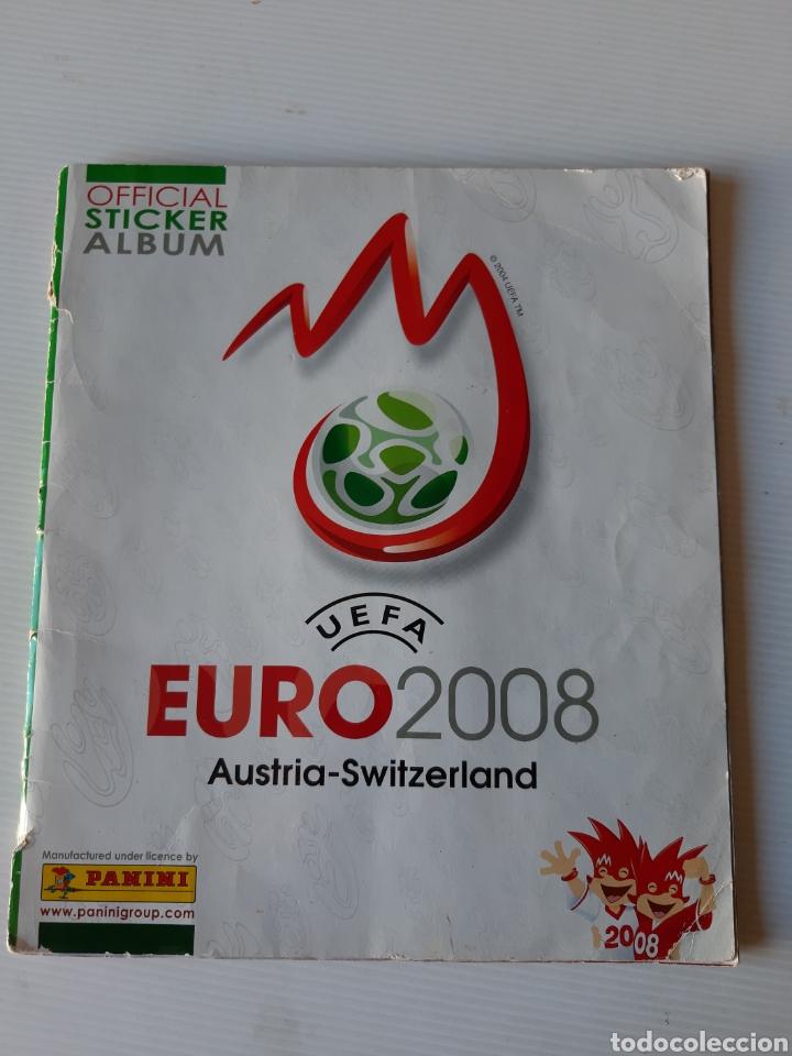 ÁLBUM DE CROMOS EUROCOPA 2008 AUSTRIA SUIZA PANINI (Coleccionismo Deportivo - Álbumes y Cromos de Deportes - Álbumes de Fútbol Incompletos)