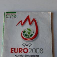Coleccionismo deportivo: ÁLBUM DE CROMOS EUROCOPA 2008 AUSTRIA SUIZA PANINI. Lote 168484230