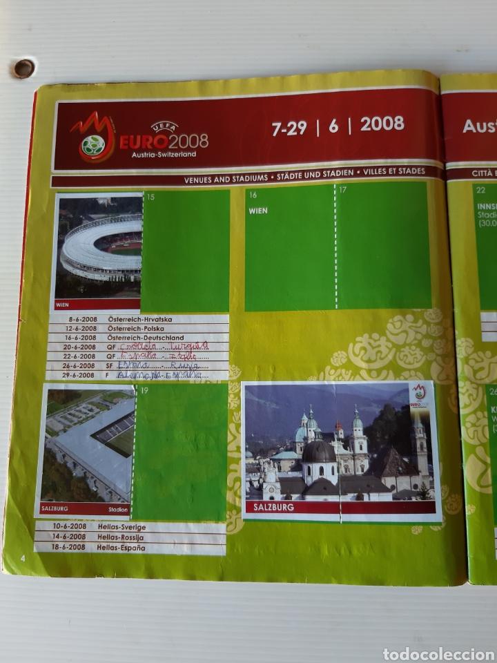 Coleccionismo deportivo: Álbum de cromos Eurocopa 2008 Austria Suiza Panini - Foto 2 - 168484230