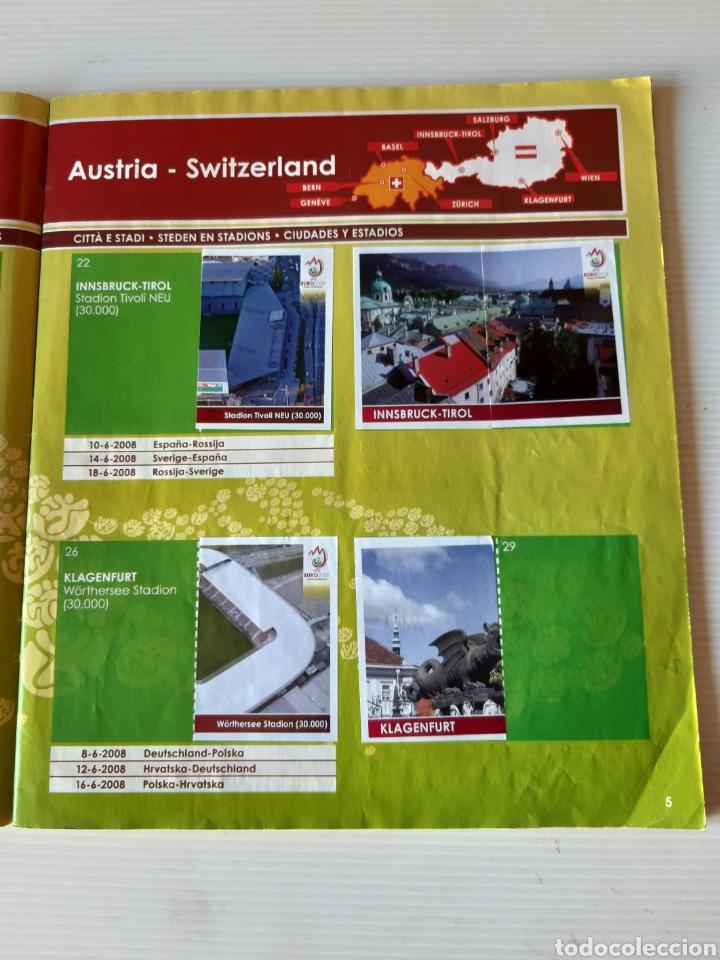 Coleccionismo deportivo: Álbum de cromos Eurocopa 2008 Austria Suiza Panini - Foto 3 - 168484230