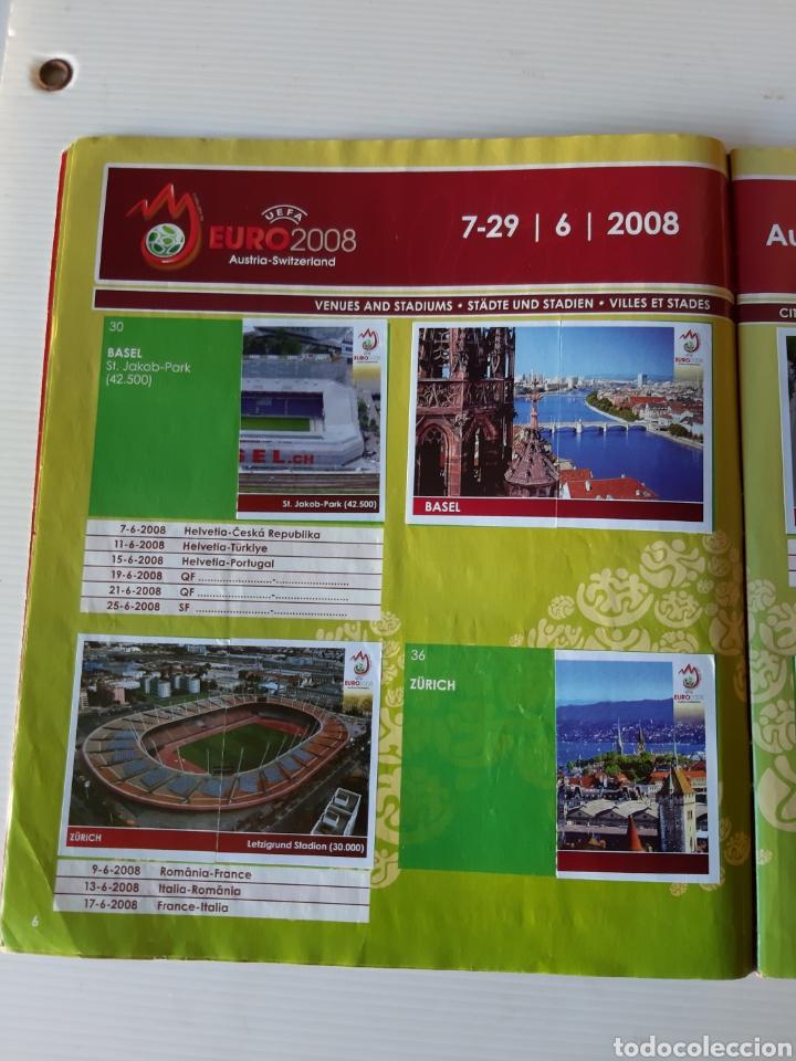 Coleccionismo deportivo: Álbum de cromos Eurocopa 2008 Austria Suiza Panini - Foto 4 - 168484230