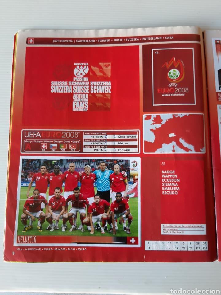 Coleccionismo deportivo: Álbum de cromos Eurocopa 2008 Austria Suiza Panini - Foto 6 - 168484230