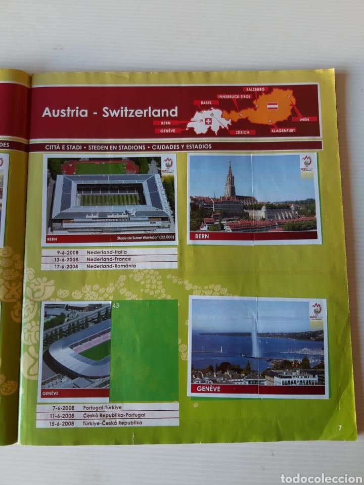 Coleccionismo deportivo: Álbum de cromos Eurocopa 2008 Austria Suiza Panini - Foto 5 - 168484230