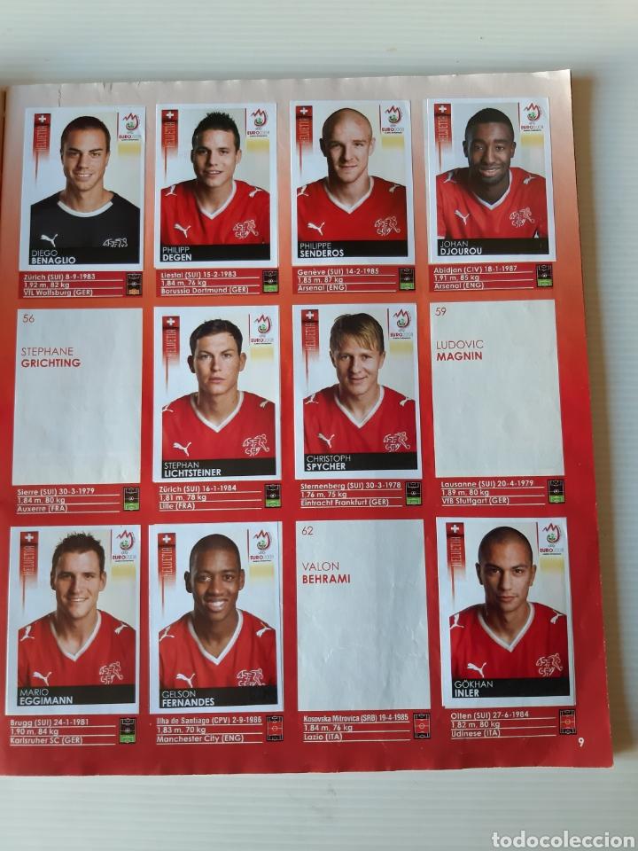 Coleccionismo deportivo: Álbum de cromos Eurocopa 2008 Austria Suiza Panini - Foto 7 - 168484230
