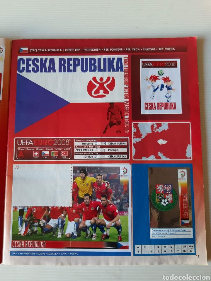 Coleccionismo deportivo: Álbum de cromos Eurocopa 2008 Austria Suiza Panini - Foto 9 - 168484230