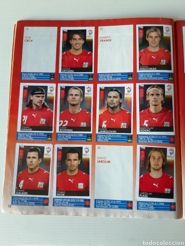 Coleccionismo deportivo: Álbum de cromos Eurocopa 2008 Austria Suiza Panini - Foto 10 - 168484230