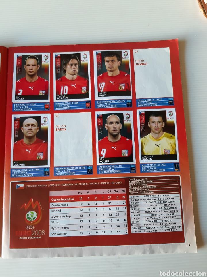 Coleccionismo deportivo: Álbum de cromos Eurocopa 2008 Austria Suiza Panini - Foto 11 - 168484230