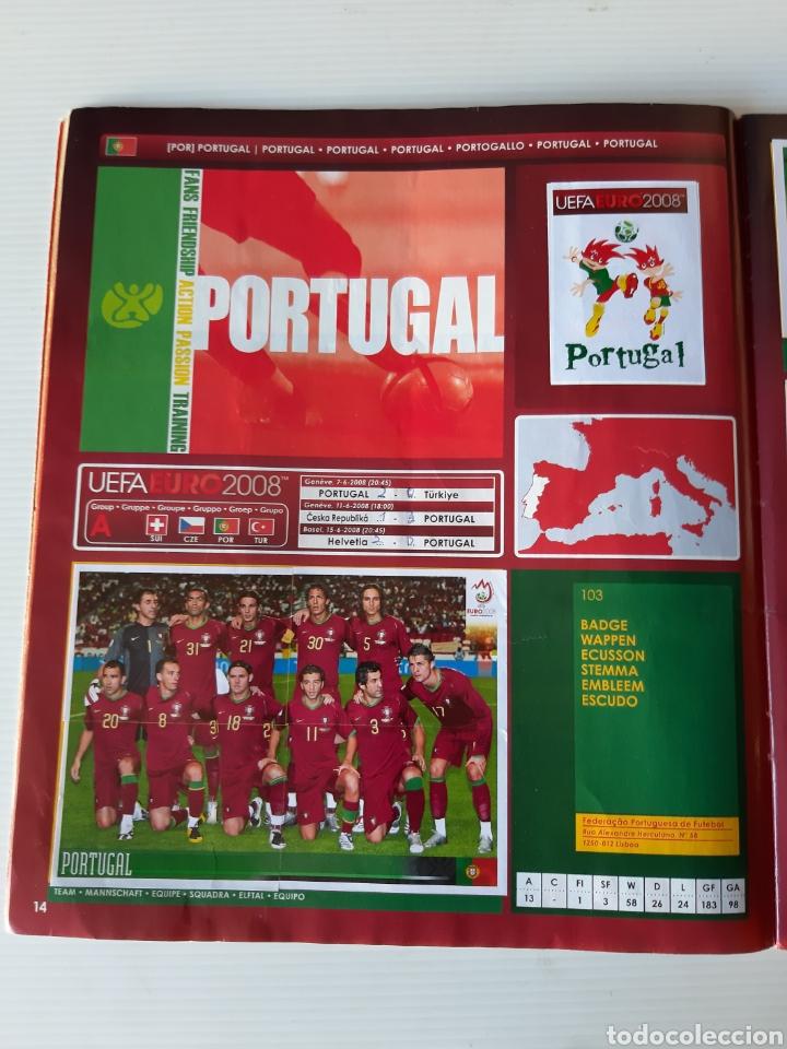 Coleccionismo deportivo: Álbum de cromos Eurocopa 2008 Austria Suiza Panini - Foto 12 - 168484230