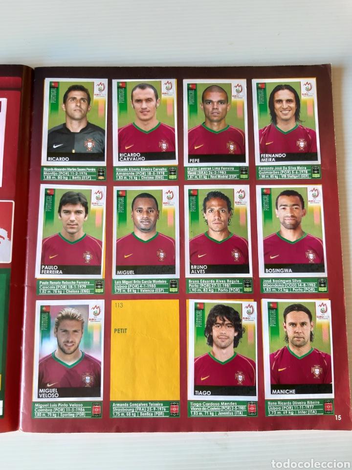 Coleccionismo deportivo: Álbum de cromos Eurocopa 2008 Austria Suiza Panini - Foto 13 - 168484230