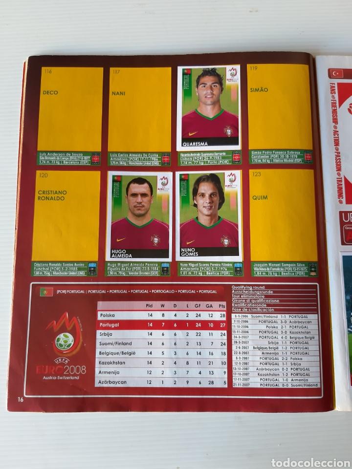 Coleccionismo deportivo: Álbum de cromos Eurocopa 2008 Austria Suiza Panini - Foto 14 - 168484230