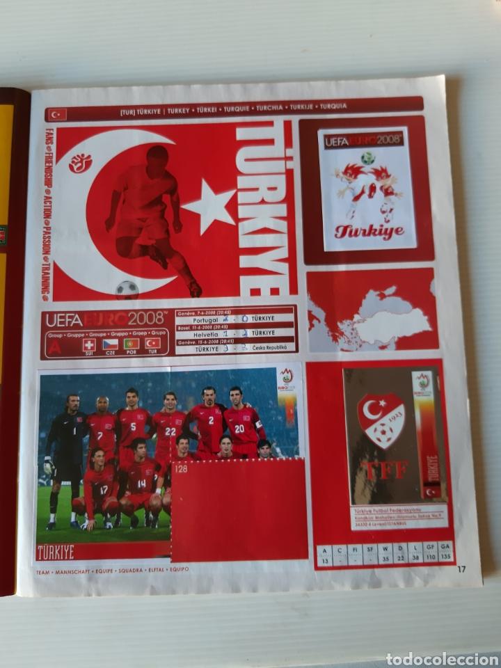 Coleccionismo deportivo: Álbum de cromos Eurocopa 2008 Austria Suiza Panini - Foto 15 - 168484230
