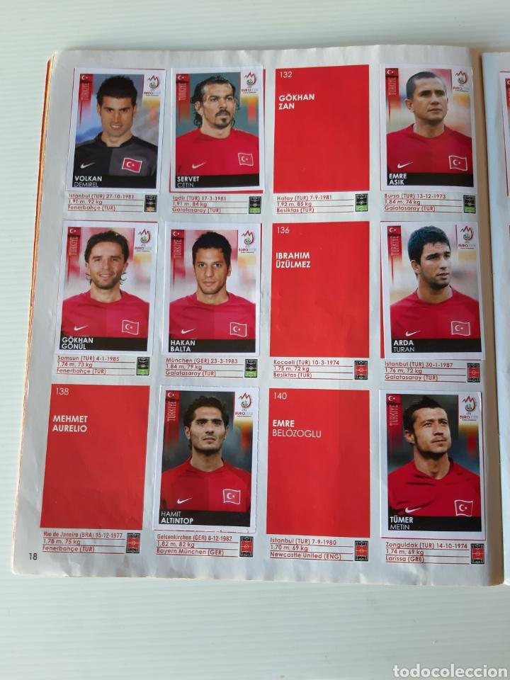 Coleccionismo deportivo: Álbum de cromos Eurocopa 2008 Austria Suiza Panini - Foto 16 - 168484230