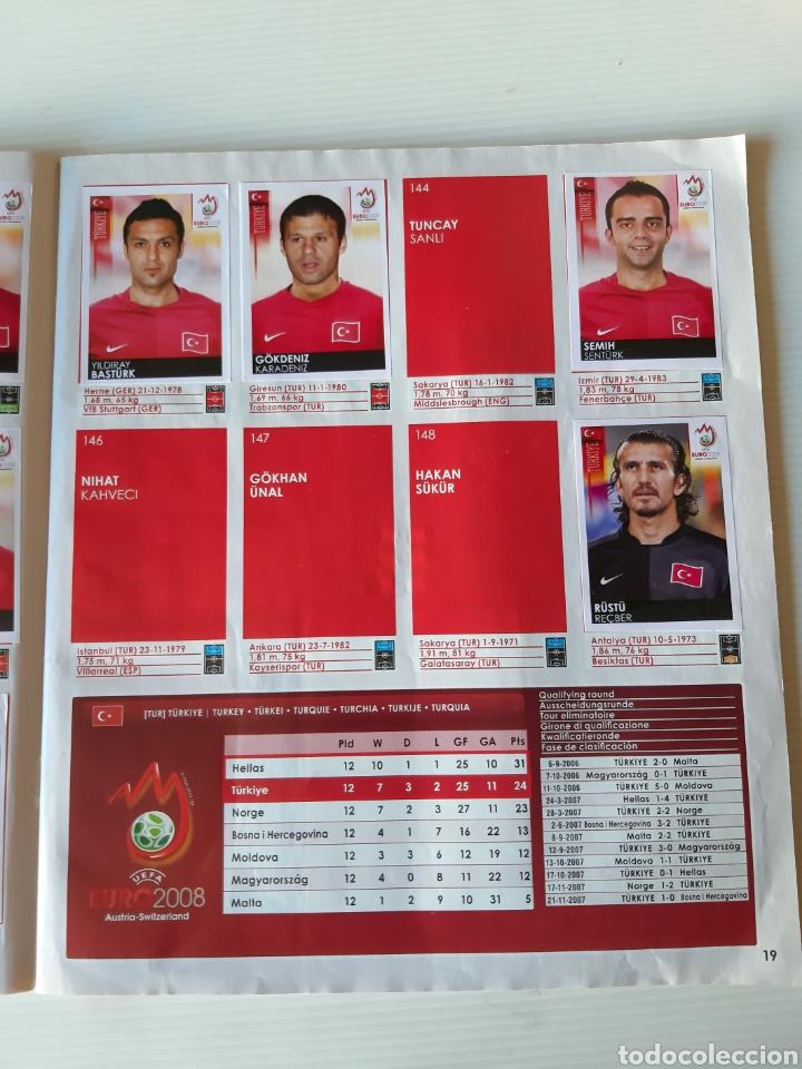 Coleccionismo deportivo: Álbum de cromos Eurocopa 2008 Austria Suiza Panini - Foto 17 - 168484230