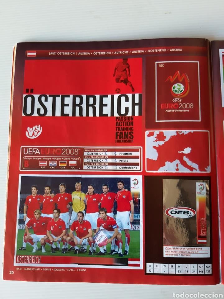 Coleccionismo deportivo: Álbum de cromos Eurocopa 2008 Austria Suiza Panini - Foto 18 - 168484230