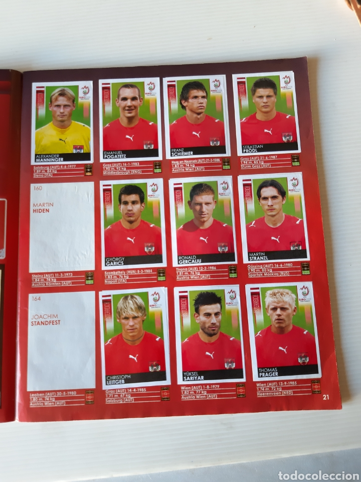 Coleccionismo deportivo: Álbum de cromos Eurocopa 2008 Austria Suiza Panini - Foto 19 - 168484230