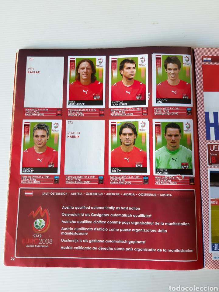 Coleccionismo deportivo: Álbum de cromos Eurocopa 2008 Austria Suiza Panini - Foto 20 - 168484230
