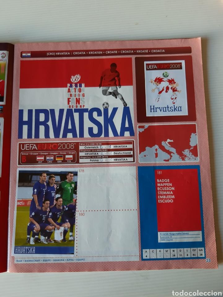 Coleccionismo deportivo: Álbum de cromos Eurocopa 2008 Austria Suiza Panini - Foto 21 - 168484230