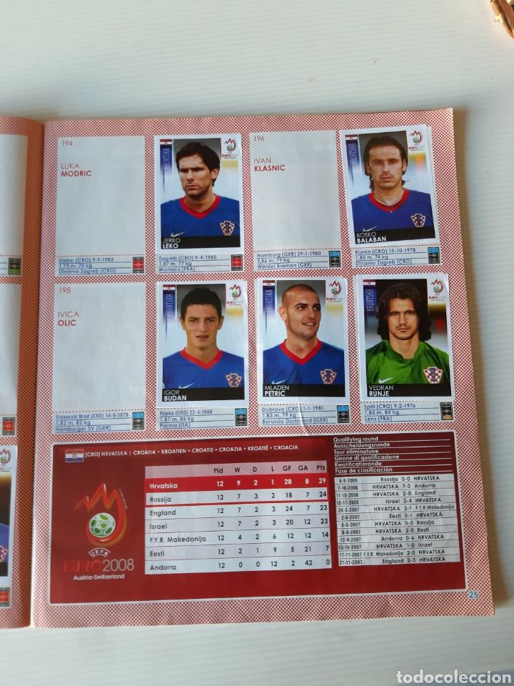 Coleccionismo deportivo: Álbum de cromos Eurocopa 2008 Austria Suiza Panini - Foto 23 - 168484230