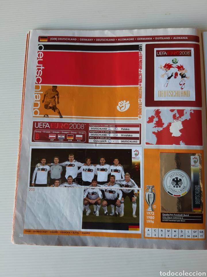 Coleccionismo deportivo: Álbum de cromos Eurocopa 2008 Austria Suiza Panini - Foto 24 - 168484230