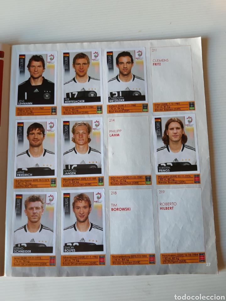Coleccionismo deportivo: Álbum de cromos Eurocopa 2008 Austria Suiza Panini - Foto 25 - 168484230