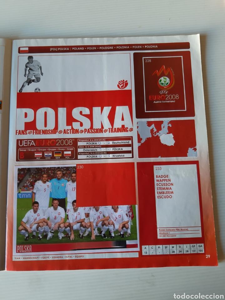 Coleccionismo deportivo: Álbum de cromos Eurocopa 2008 Austria Suiza Panini - Foto 27 - 168484230