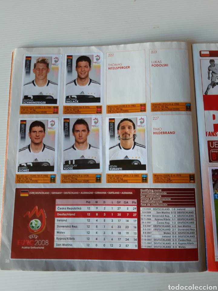 Coleccionismo deportivo: Álbum de cromos Eurocopa 2008 Austria Suiza Panini - Foto 26 - 168484230