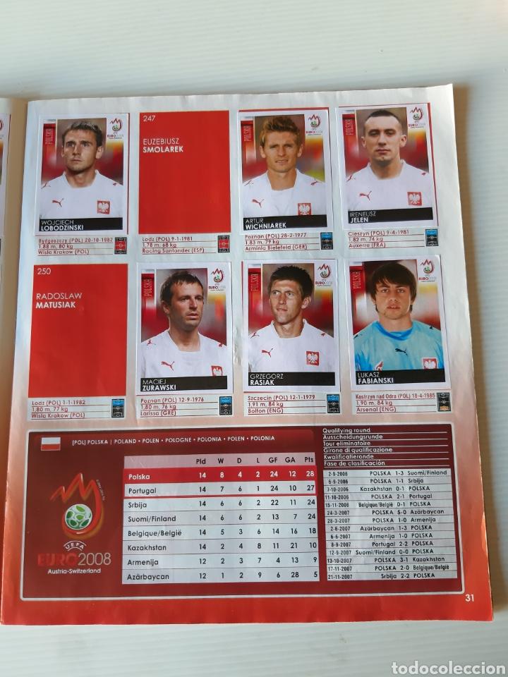 Coleccionismo deportivo: Álbum de cromos Eurocopa 2008 Austria Suiza Panini - Foto 29 - 168484230