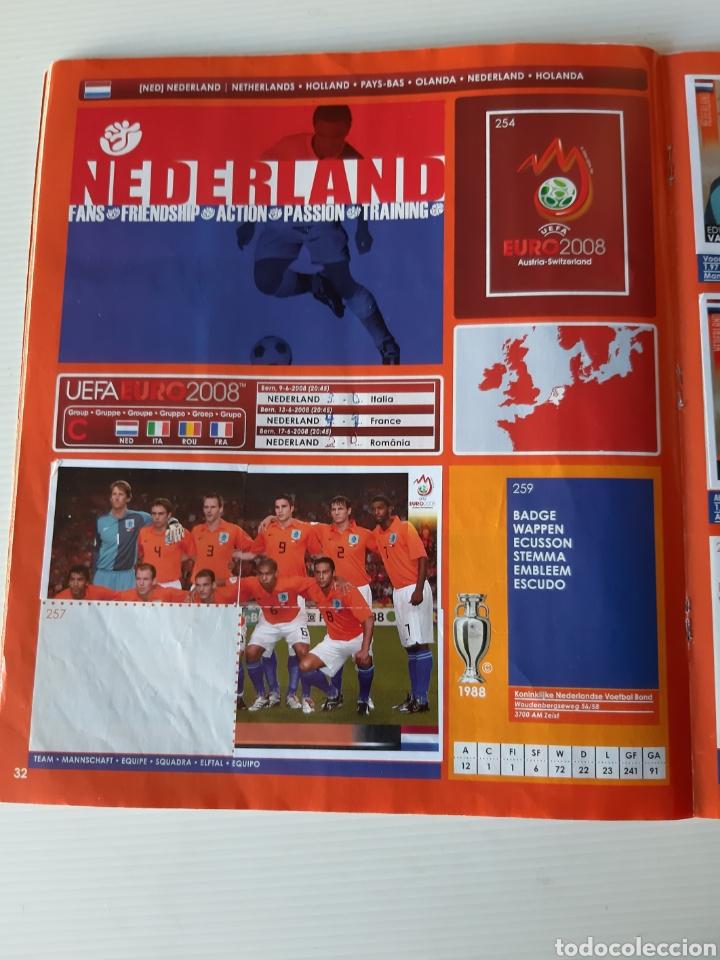 Coleccionismo deportivo: Álbum de cromos Eurocopa 2008 Austria Suiza Panini - Foto 30 - 168484230