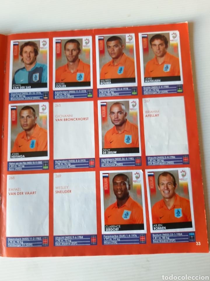 Coleccionismo deportivo: Álbum de cromos Eurocopa 2008 Austria Suiza Panini - Foto 31 - 168484230