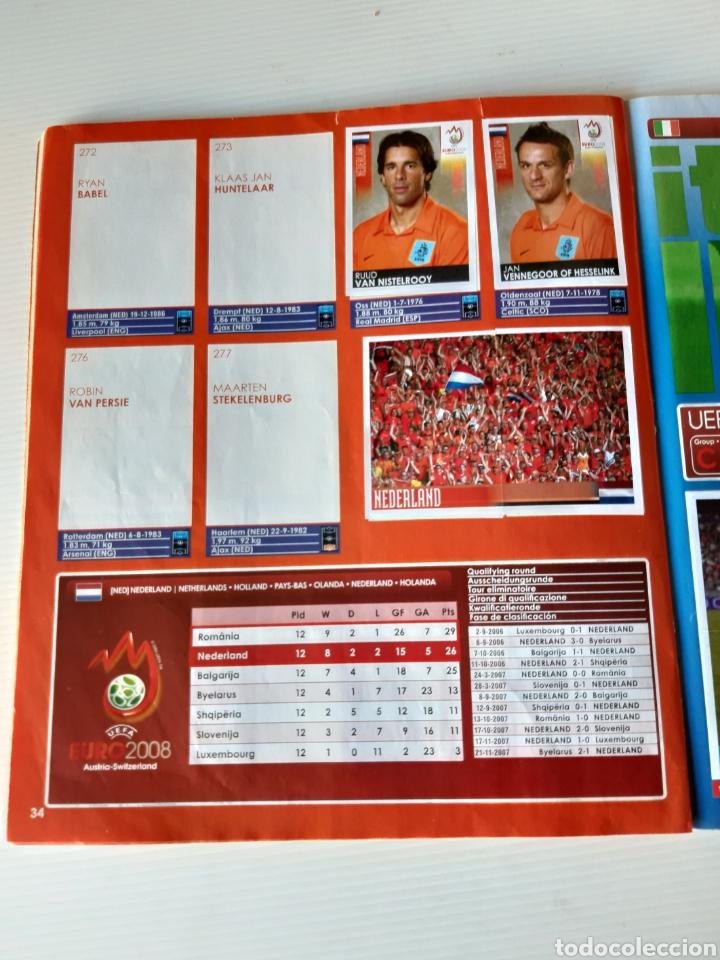 Coleccionismo deportivo: Álbum de cromos Eurocopa 2008 Austria Suiza Panini - Foto 32 - 168484230