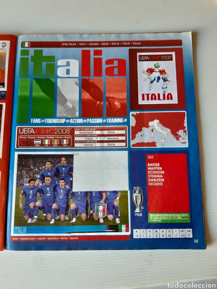 Coleccionismo deportivo: Álbum de cromos Eurocopa 2008 Austria Suiza Panini - Foto 33 - 168484230