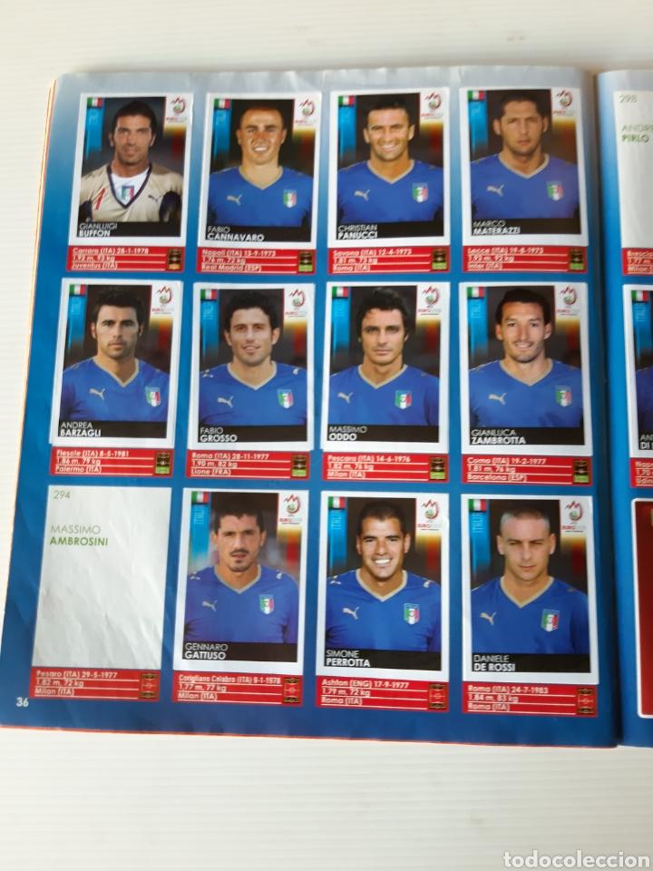 Coleccionismo deportivo: Álbum de cromos Eurocopa 2008 Austria Suiza Panini - Foto 34 - 168484230