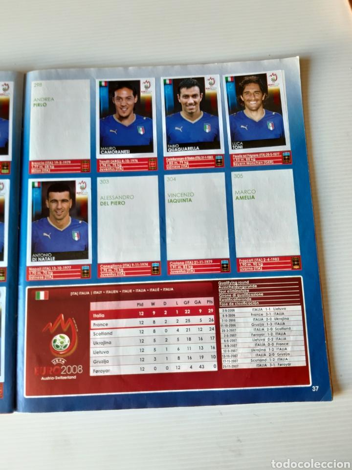 Coleccionismo deportivo: Álbum de cromos Eurocopa 2008 Austria Suiza Panini - Foto 35 - 168484230