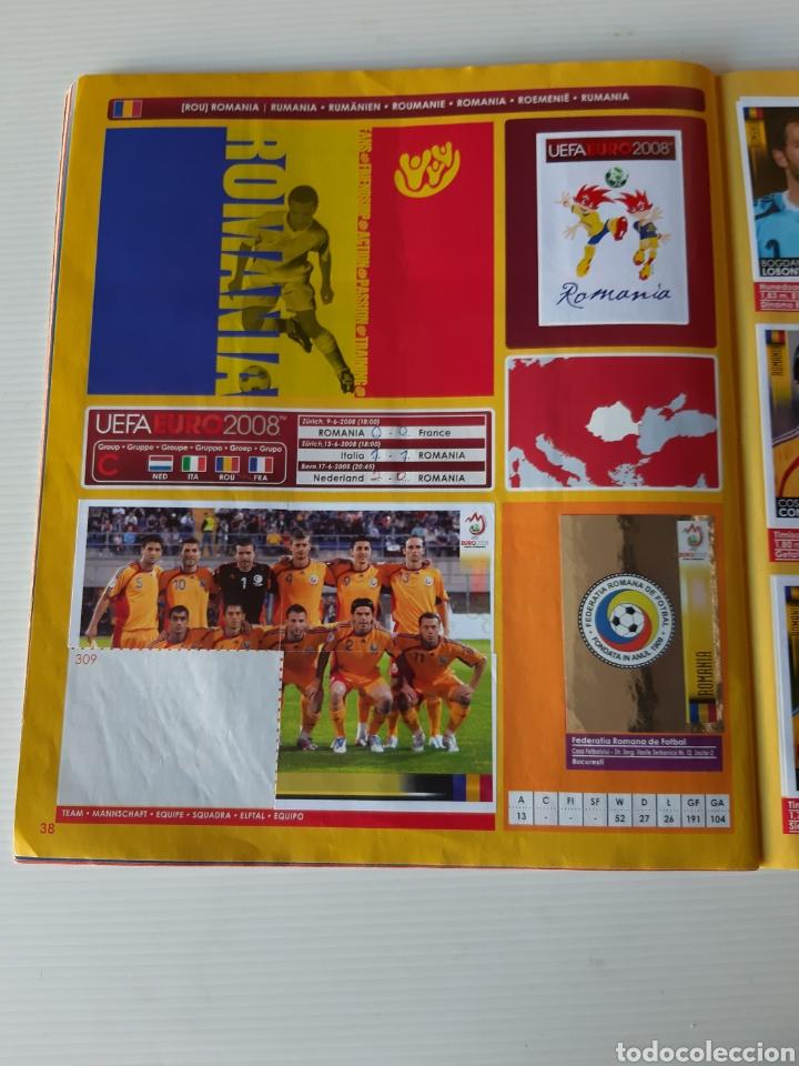 Coleccionismo deportivo: Álbum de cromos Eurocopa 2008 Austria Suiza Panini - Foto 36 - 168484230