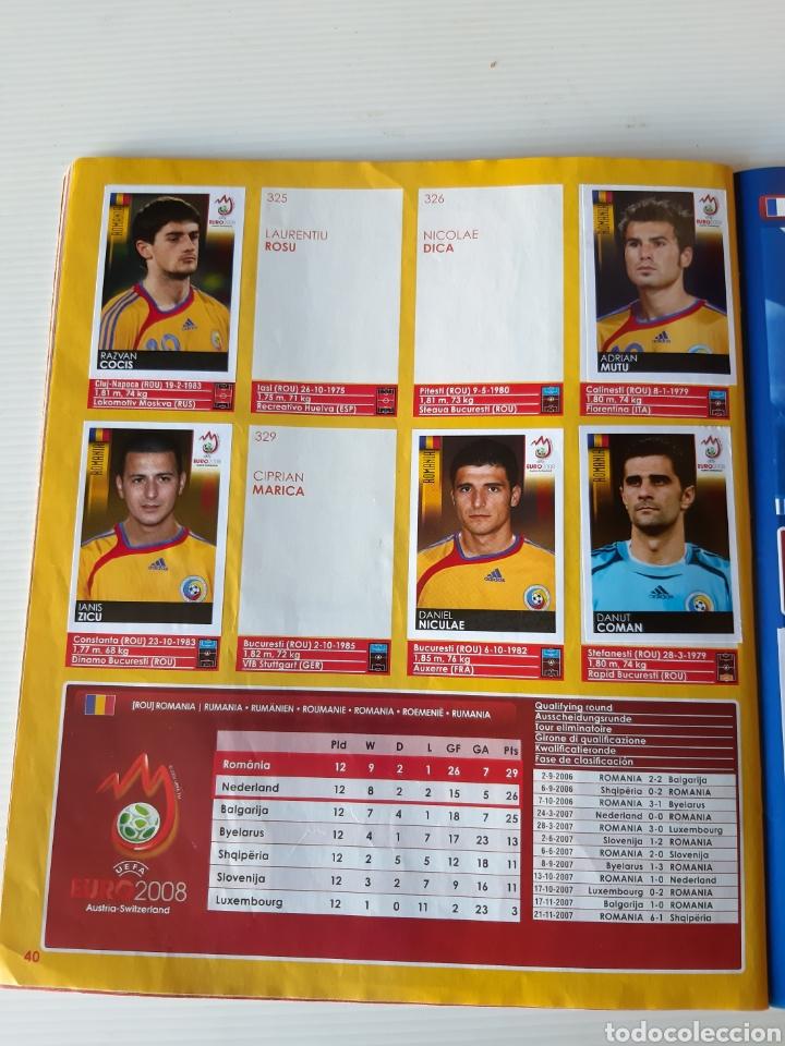 Coleccionismo deportivo: Álbum de cromos Eurocopa 2008 Austria Suiza Panini - Foto 38 - 168484230