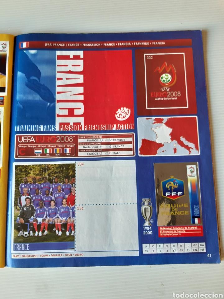 Coleccionismo deportivo: Álbum de cromos Eurocopa 2008 Austria Suiza Panini - Foto 39 - 168484230