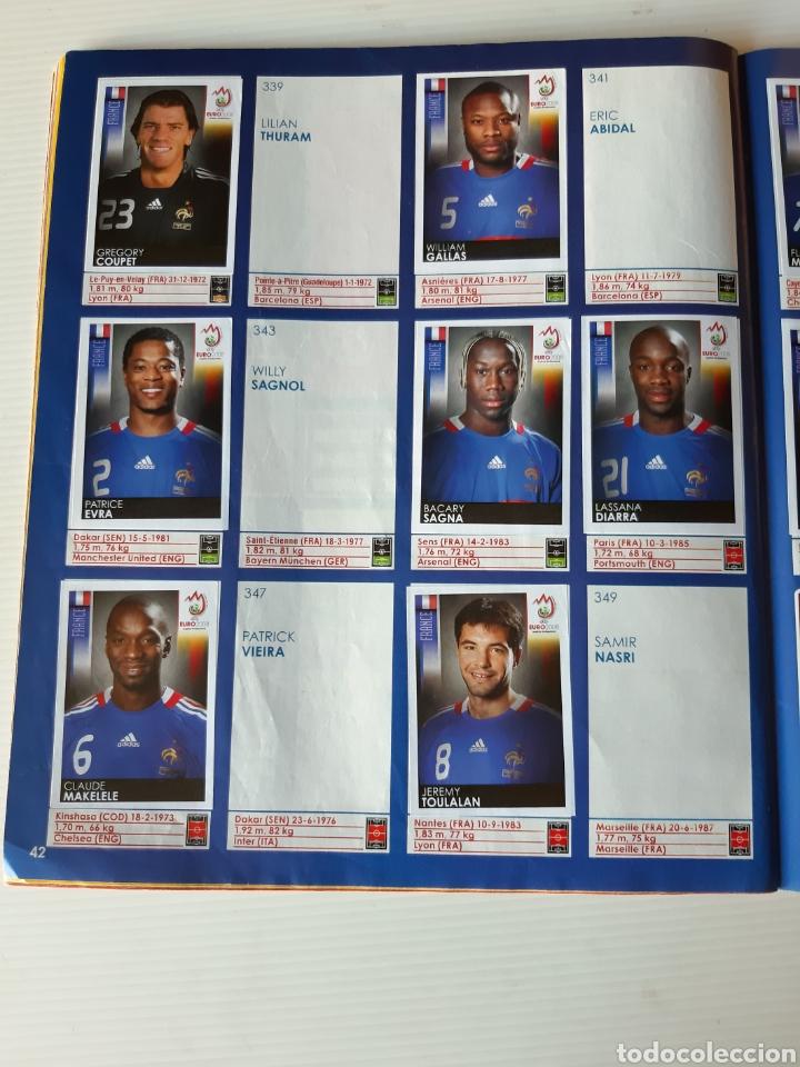 Coleccionismo deportivo: Álbum de cromos Eurocopa 2008 Austria Suiza Panini - Foto 40 - 168484230