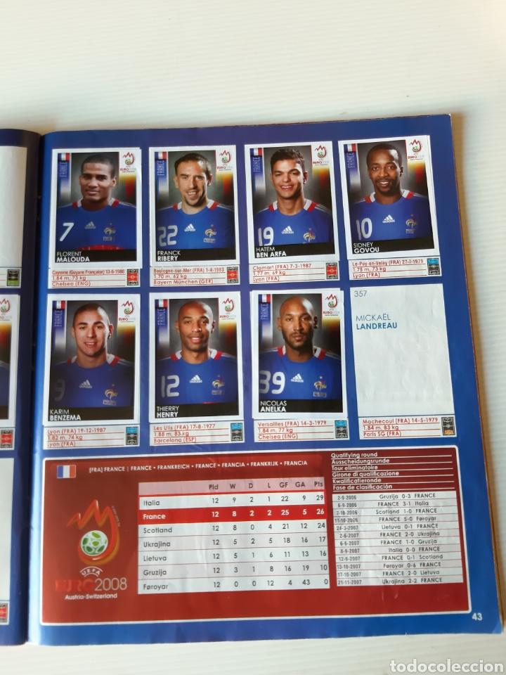 Coleccionismo deportivo: Álbum de cromos Eurocopa 2008 Austria Suiza Panini - Foto 41 - 168484230