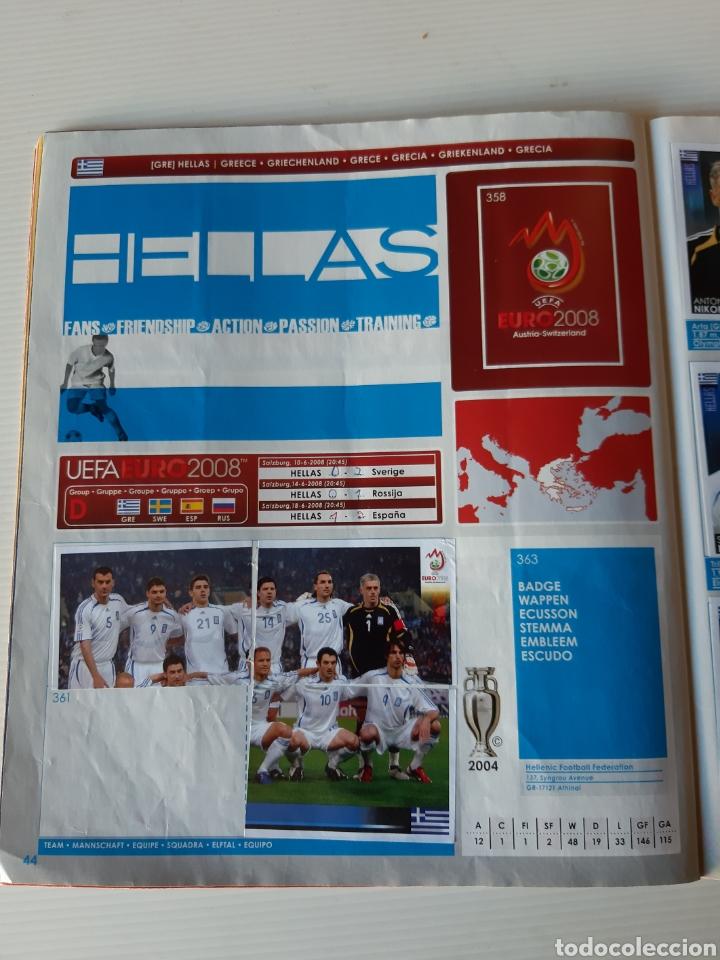 Coleccionismo deportivo: Álbum de cromos Eurocopa 2008 Austria Suiza Panini - Foto 42 - 168484230